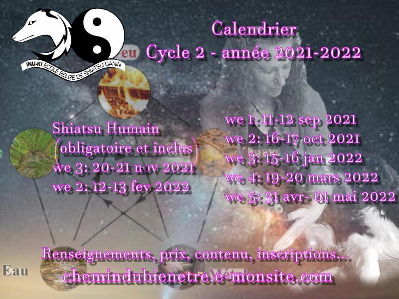 Calendrier c2 2021